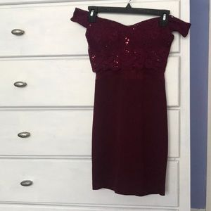 Cocktail dress, worn once. Perfect for homecoming!